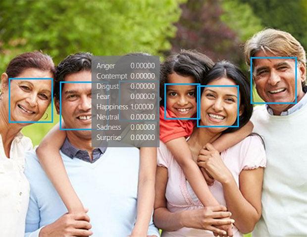 Microsoft Emotion Detection 2