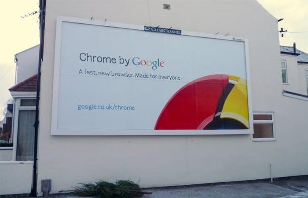 Google Chrome Billboard