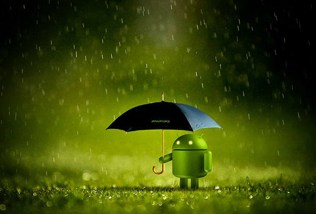 android umbrella 1