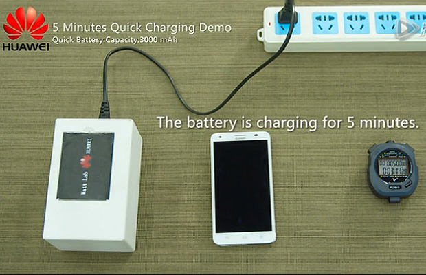 Huawei Fast Charging Prototype Battery