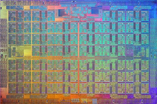 Intel Xeon Phi Die