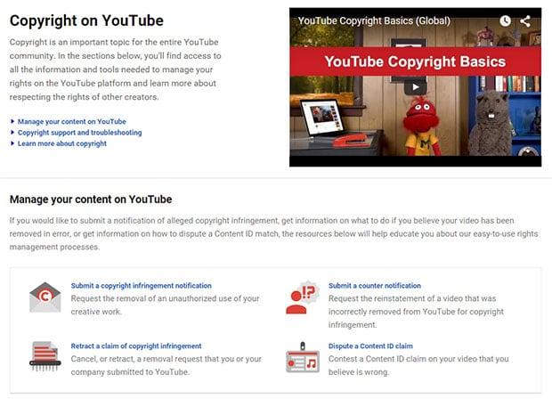 Copyright On YouTube