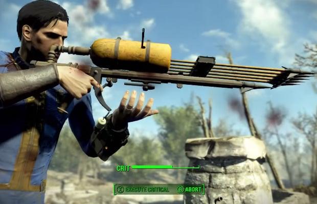 Fallout 4 Harpoon Gun
