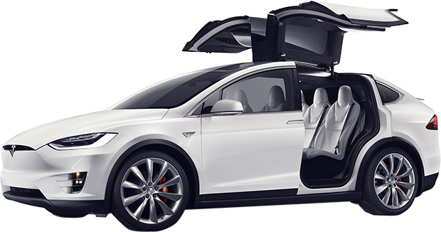 tesla model x electric crossover priced from 80 000 hothardware. Black Bedroom Furniture Sets. Home Design Ideas