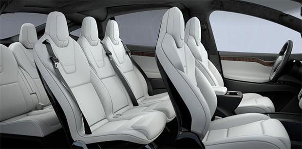 Tesla Model X Seating