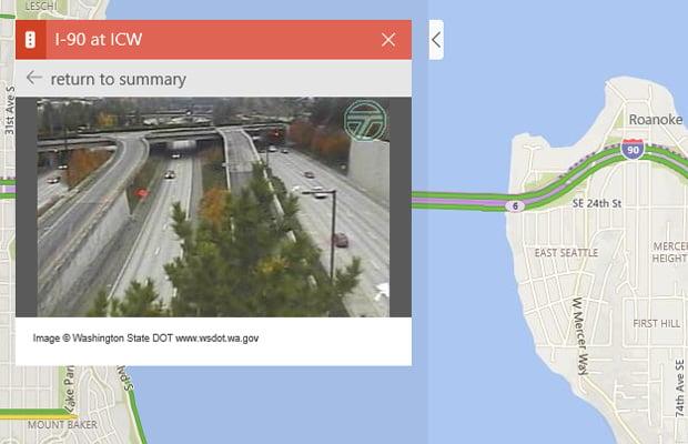 Bing Maps Traffic Cameras