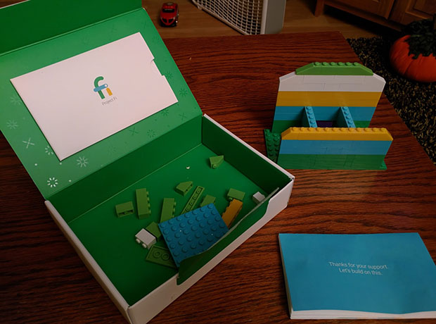 Project Fi Lego