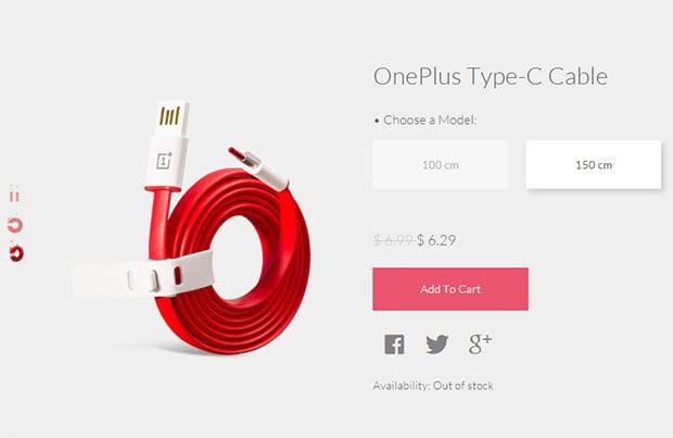 OnePlus USB Type-C Cable