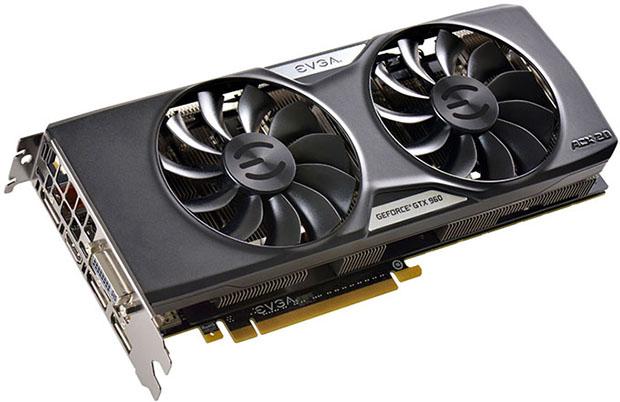 EVGA GeForce GTX 960 4GB SuperSC Edition