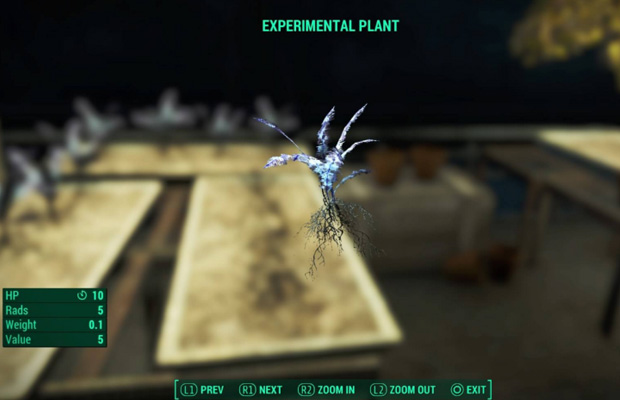 Experimental Plant in Fallout 4