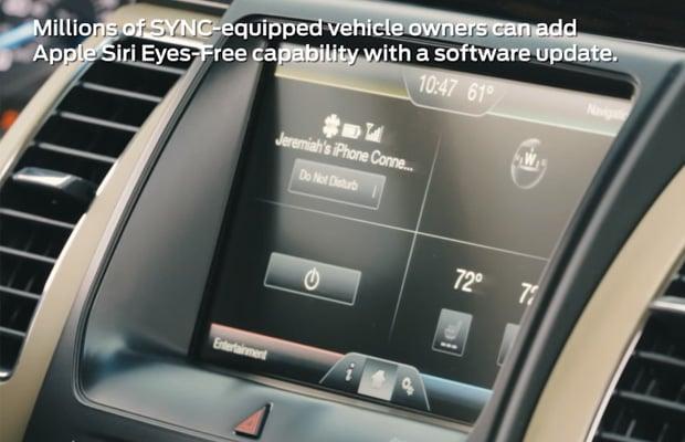 Ford SYNC Siri Eyes-Free