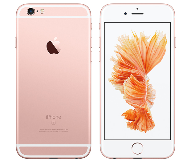 iPhone6s Rose Gold