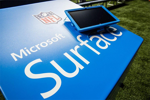 Microsoft Surface NFL