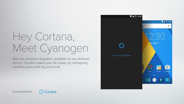 hey cortana cyanogen