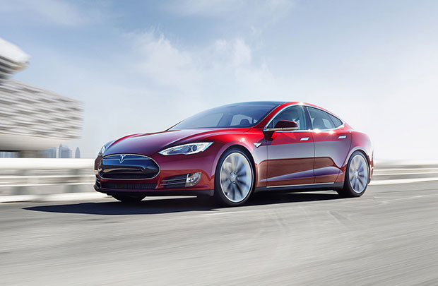 model s red