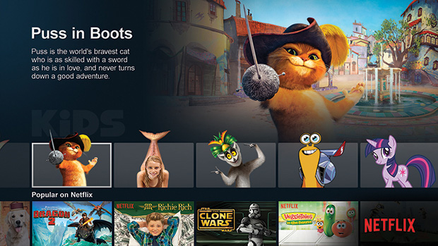 Netflix Puss in Boots