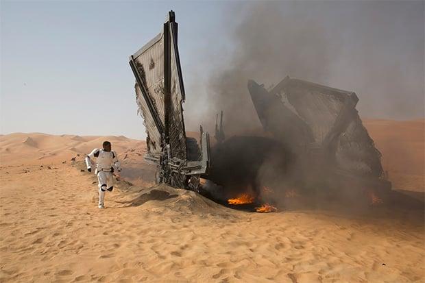 Star Wars: The Force Awakens Crash