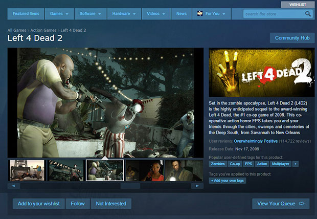 Left 4 Dead Steam
