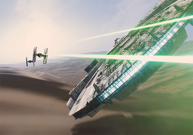 Star Wars: Force Awakens Tie Fighters