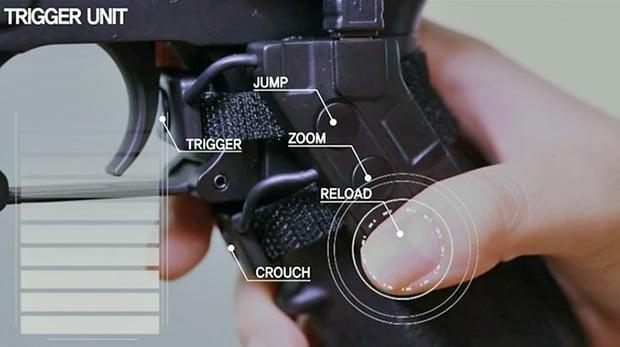Rail Gun trigger