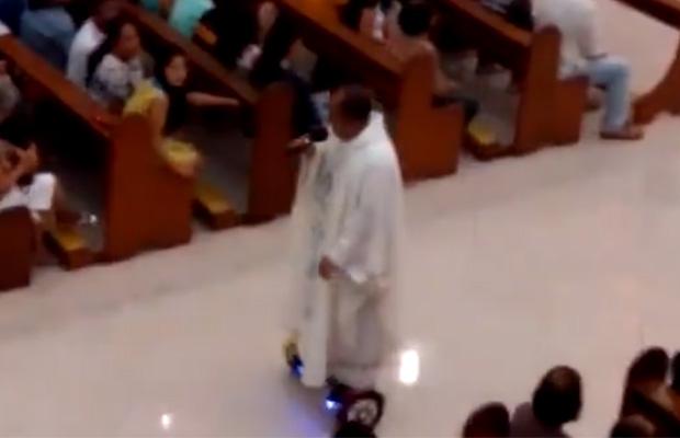 Priest Hoverboard