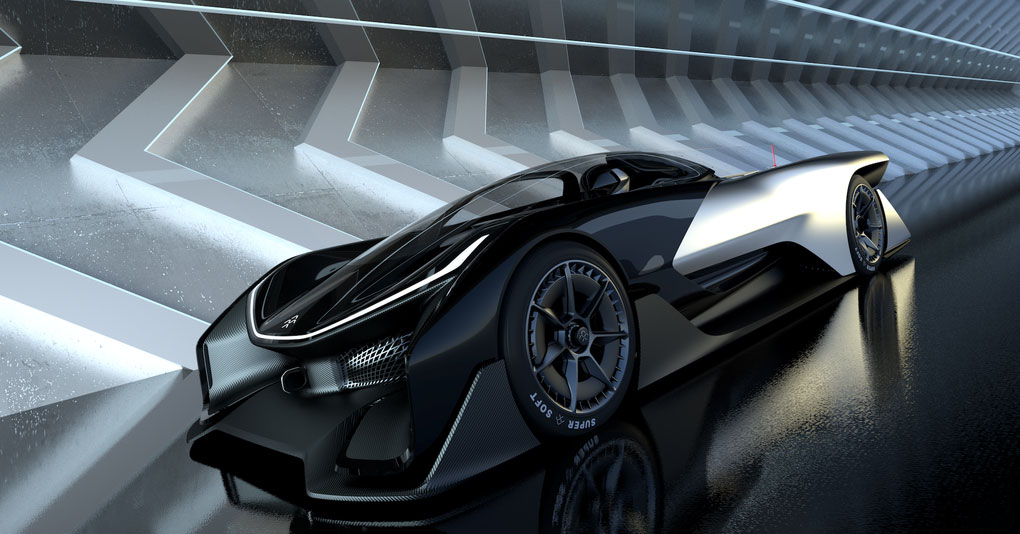 1000HP Faraday FFZero1 EV Concept Is Ridiculously Slick Take On Green Hypercars