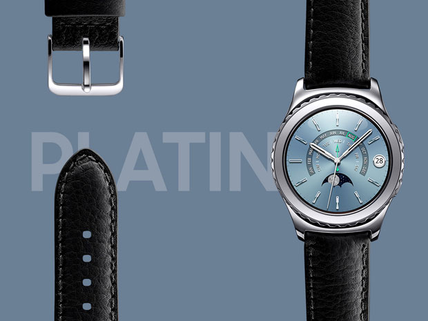 gear s2 design classic platinum