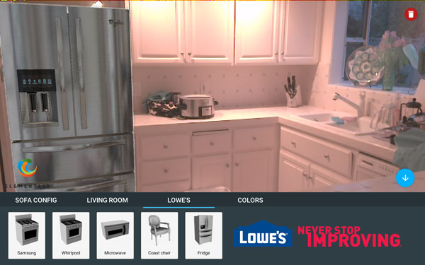 lowes project tango