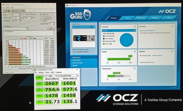 OCZ RevoDrive400 Benchmarks