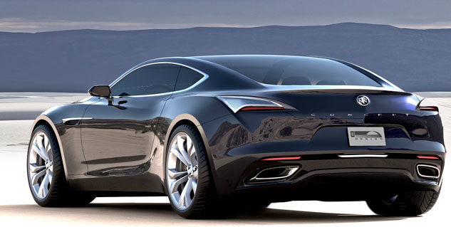 The Avista concept is a great example of Buick's new focus on aesthetics.