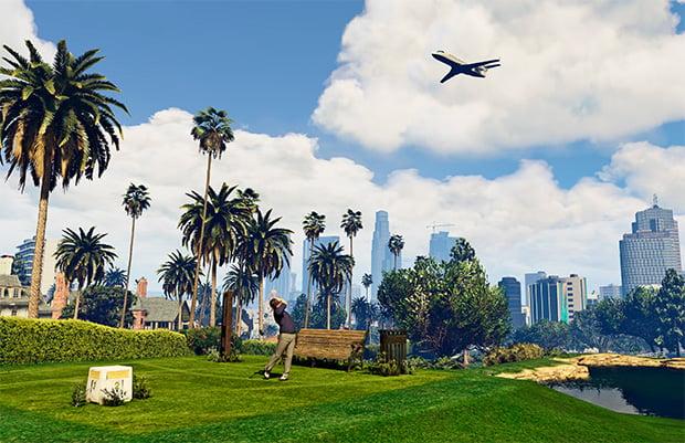 Grand Theft Auto V Golf