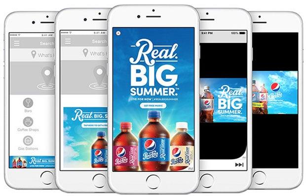 Apple iAd App Networks Pepsi