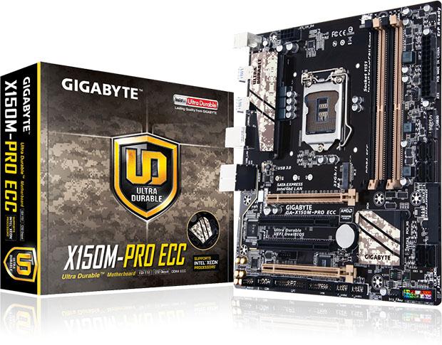 GIGABYTE X150M PRO ECC Motherboard