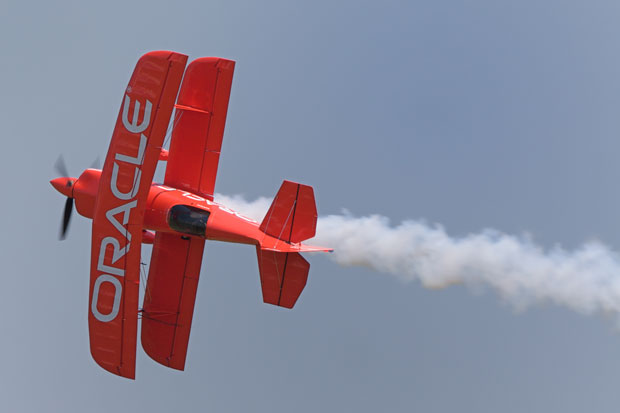 oracle airplane