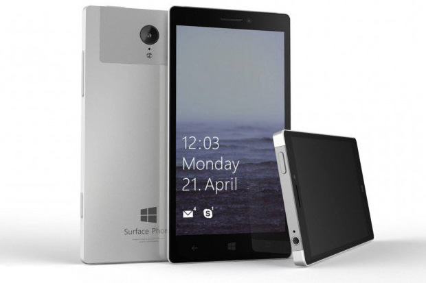 surface phone concept mock