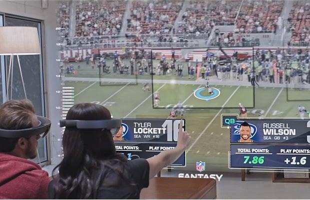HoloLens NFL