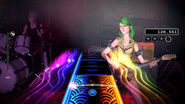 RockBand4 Freestyle Guitar