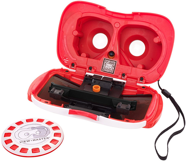 View-Master Opened