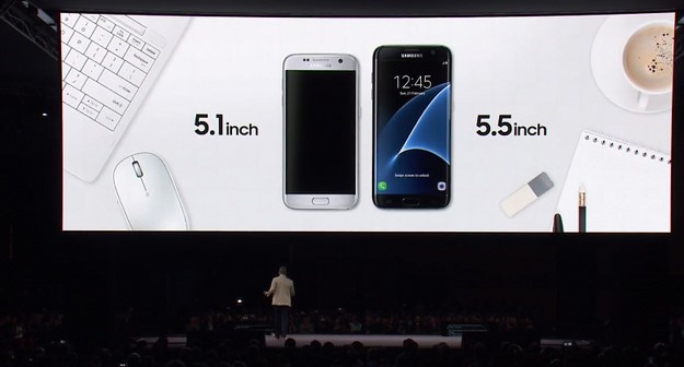 Samsung Galaxy S7 and Galaxy S7 Edge Screen Sizes