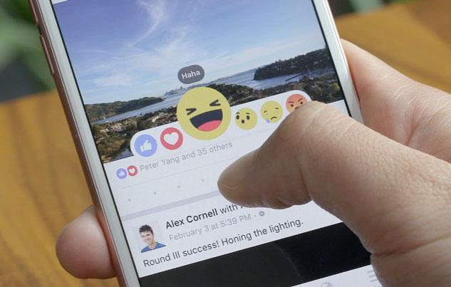 reactions facebook 2