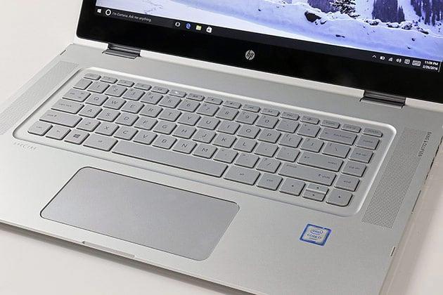 HP Spectre X360 Keyboard TouchPad