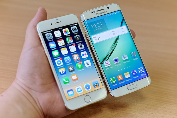 iPhone 6 and Galaxy S6 Edge