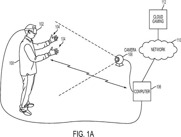 sony patents motion controller for playstation vr