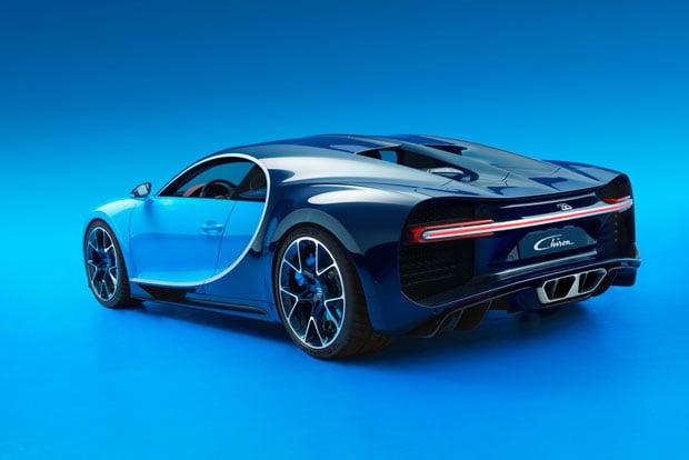 $2.6 million bugatti veyron shreds its veyron predecessor