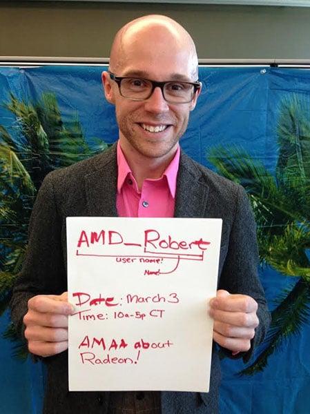 AMD Robert Hallock AMA