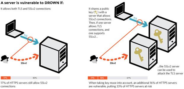 DROWN diagram