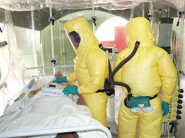 Ebola Researchers