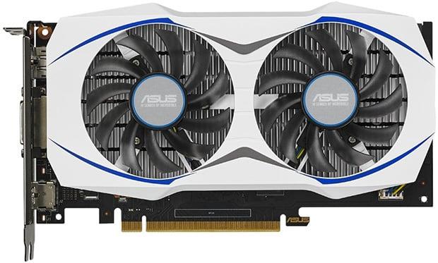 ASUS GeForce GTX 950 Side View