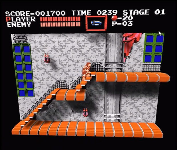 Castlevania NES 3D