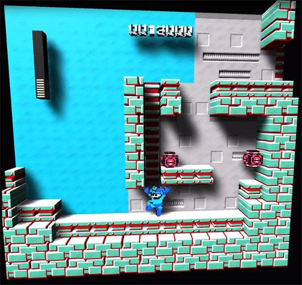 Megaman NES 3D